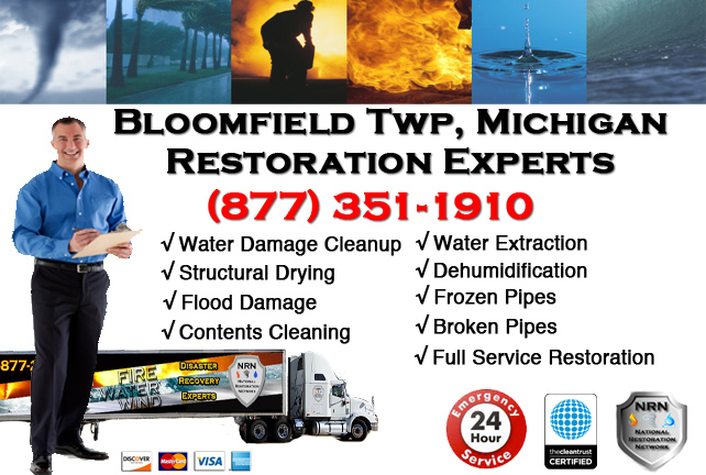Bloomfield Township Water Damage Repairs