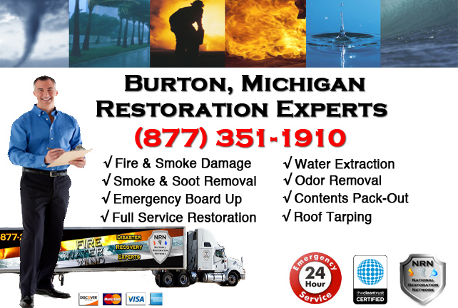 Burton Fire Damage Contractor