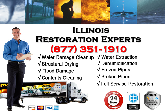 Illinois Water Damage Cleanup