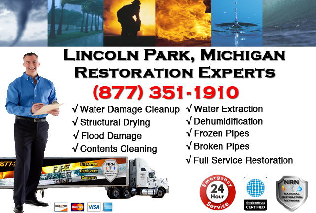 Lincoln Park Water Damage Repairs