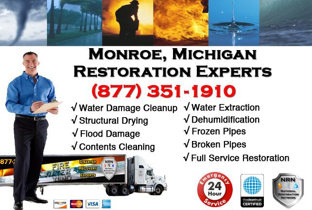 Monroe Water Damage Repairs