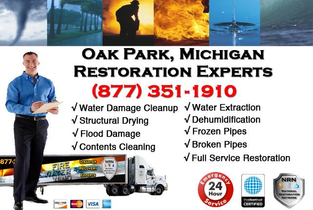 Oak Park Water Damage Repairs