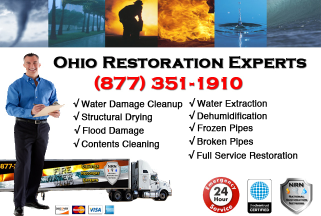 Ohio Water Damage Cleanup