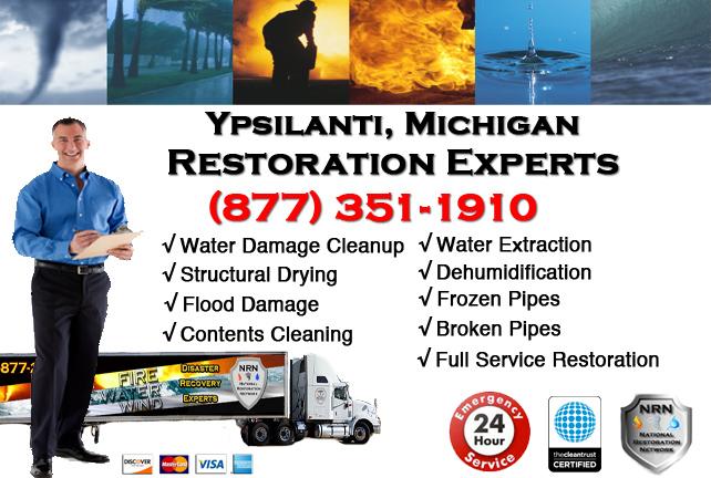 Ypsilanti Water Damage Repairs