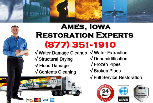 Ames Water Damage Cleanup
