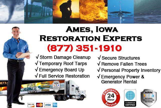 Ames Storm Damage Repairs & Service