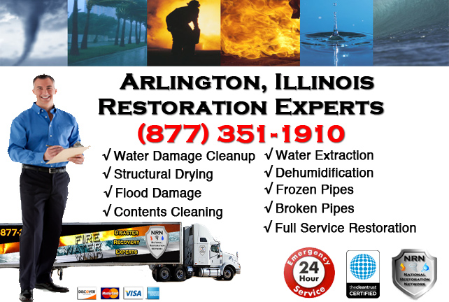 Arlington Water Damage Cleanup