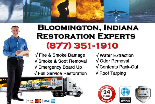 Bloomington Fire & Smoke Damage Repairs