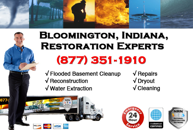 Bloomington Flooded Basement Cleanup Contractor