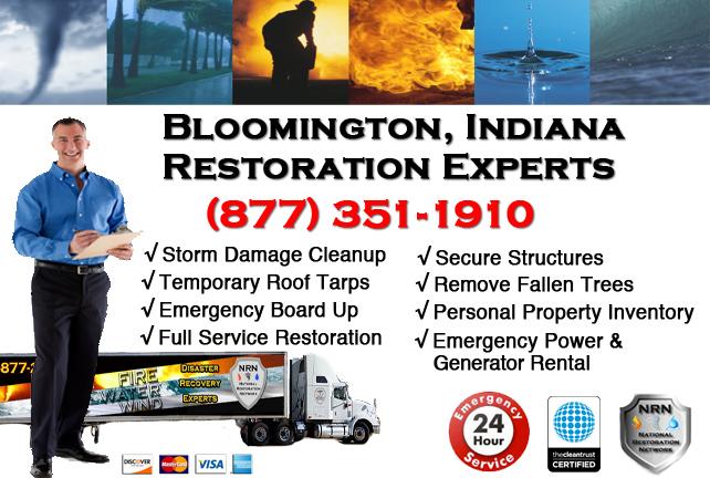 Bloomington Storm Damage Restoration