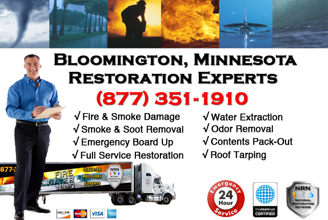 Bloomington Fire Damage Contractor