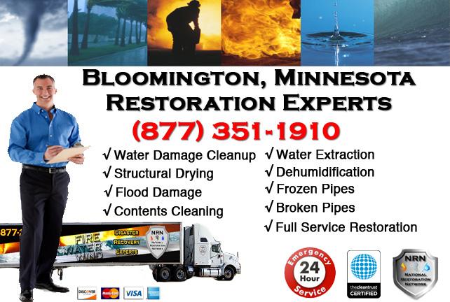 Bloomington Water Damage Cleanup & Repairs
