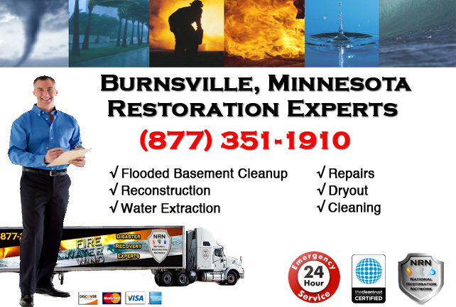 Burnsville Flooded Basement Cleanup & Repairs