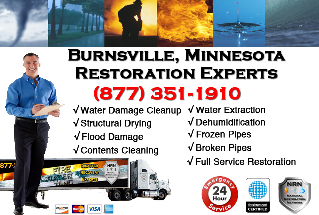 Burnsville Water Damage Cleanup & Repairs