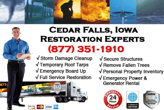 Cedar Falls Storm Damage Repairs & Service