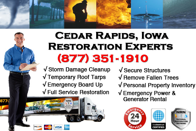 Cedar Rapids Storm Damage Repairs & Service