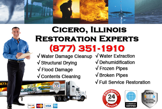 Cicero Water Damage Cleanup