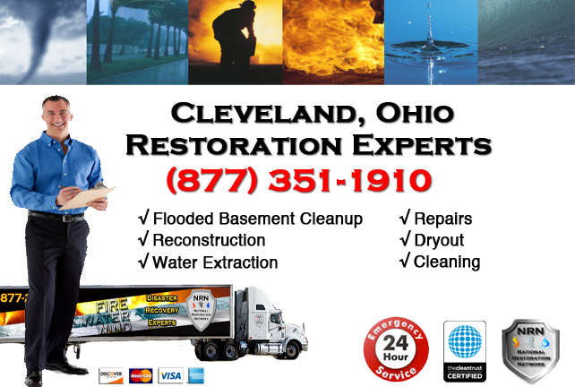 Cleveland Flooded Basement Cleanup Company