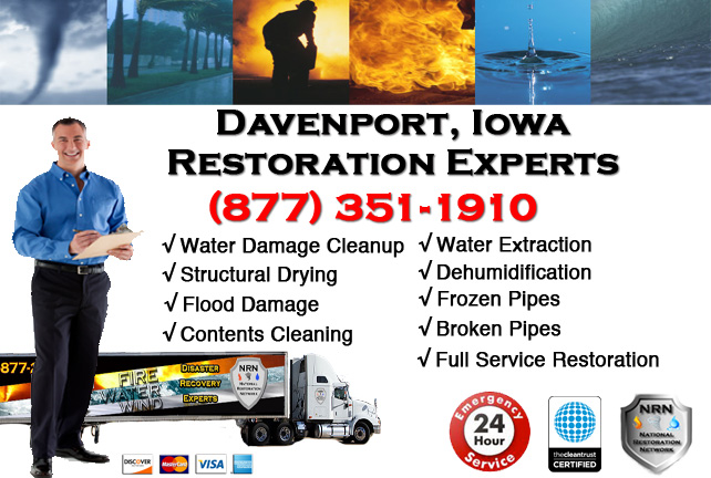 Davenport Water Damage Cleanup