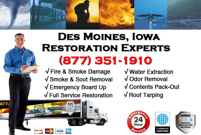 Des Moines Fire Damage Cleanup