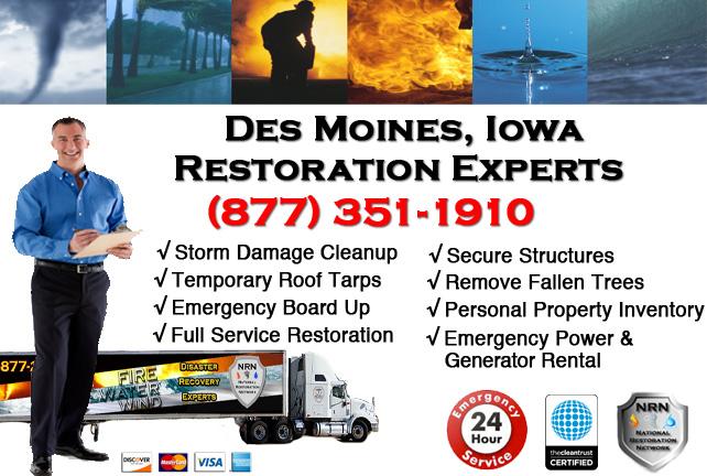 Des Moines Storm Damage Repairs & Service