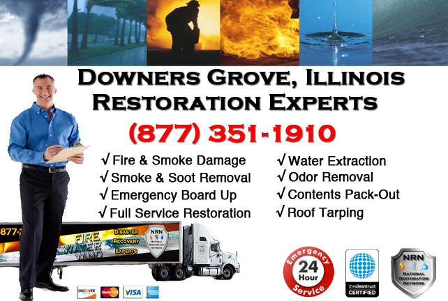 Downers Grove Fire Damage Repairs