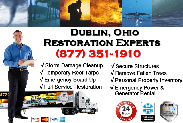 Dublin Storm Damage Cleanup