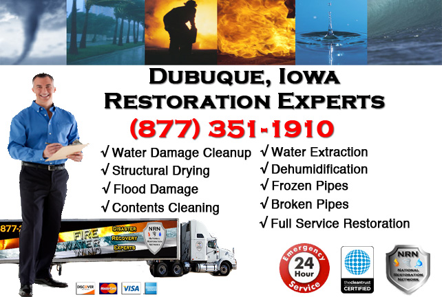 Dubuque Water Damage Cleanup