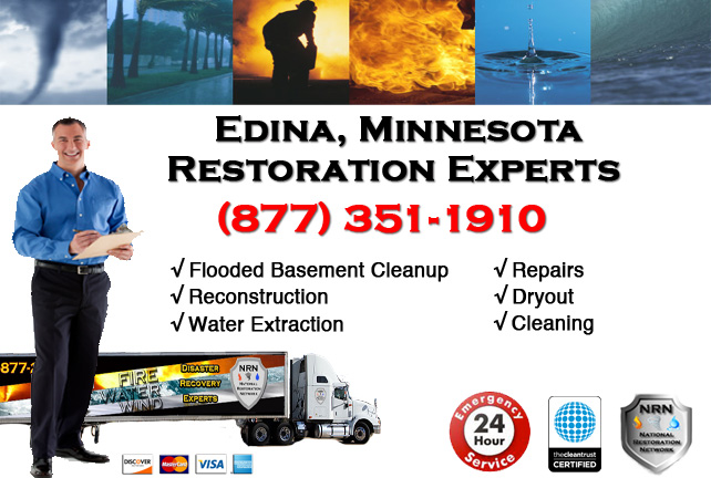 Edina Flooded Basement Cleanup & Repairs