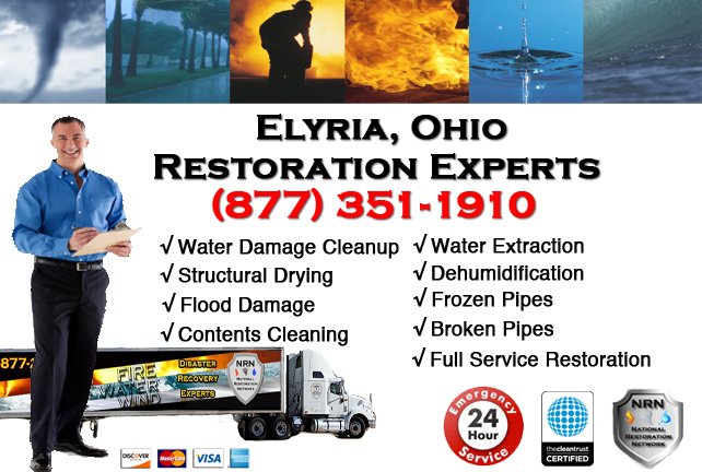 Elyria Water Damage Repair Company