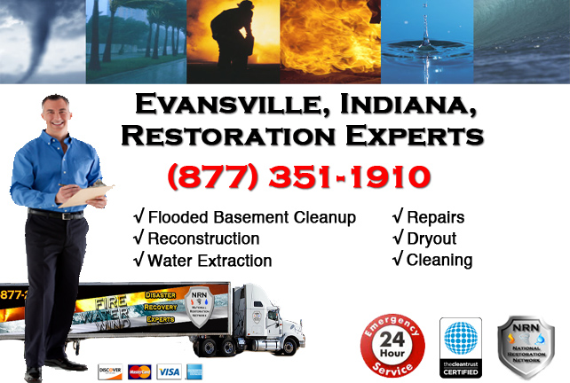 Evansville Flooded Basement Cleanup Contractor