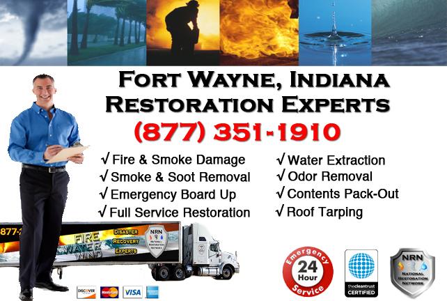 Fort Wayne Fire & Smoke Damage Repairs
