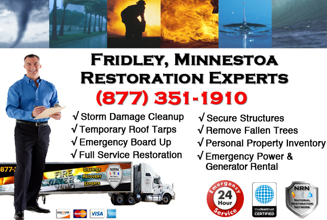 Fridley Storm Damage Cleanup