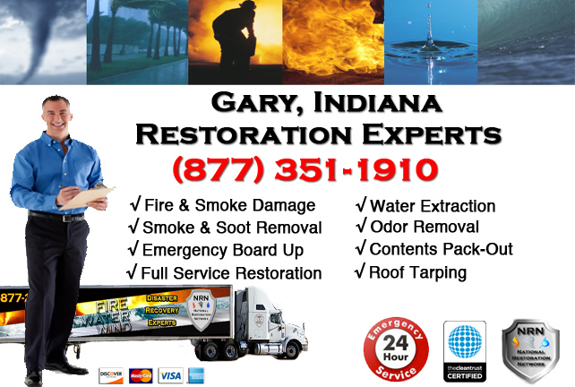 Gary Fire & Smoke Damage Repairs