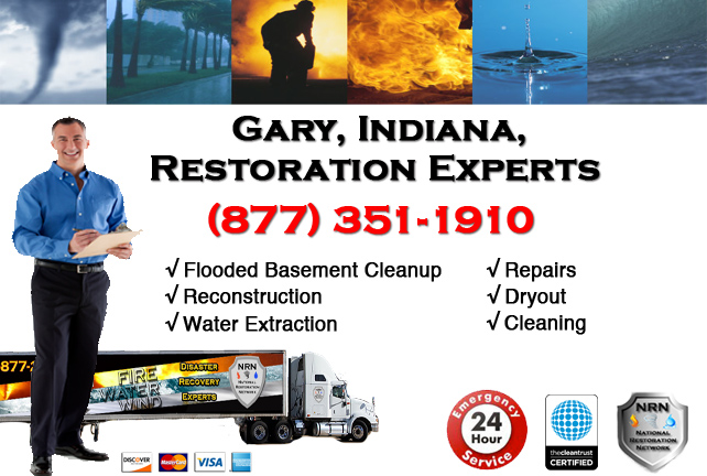 Gary Flooded Basement Cleanup Contractor