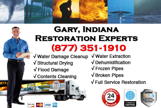 Gary Water Damage Restoration