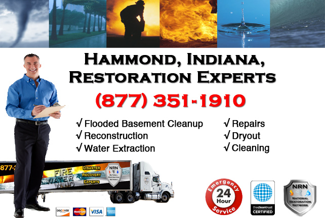 Hammond Flooded Basement Cleanup Contractor