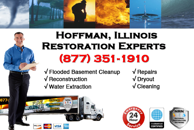 Hoffman Flooded Basement Damage Repairs