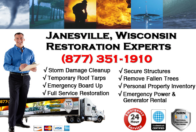 Janesville Storm Damage Cleanup