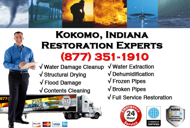 Kokomo Water Damage Restoration