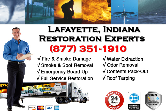 Lafayette Fire & Smoke Damage Repairs