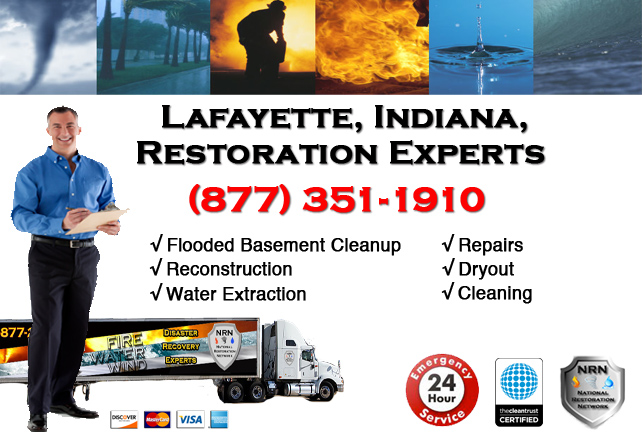 Lafayette Flooded Basement Cleanup Contractor