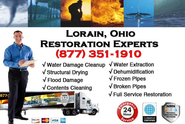 Lorain Water Damage Repair Company