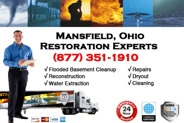 Mansfield Flooded Basement Cleanup Company