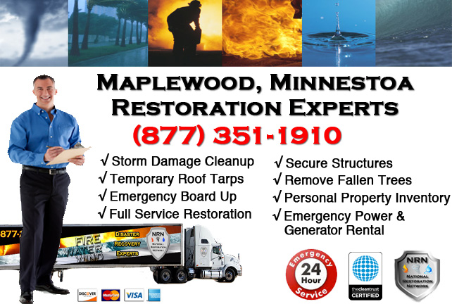 Maplewood Storm Damage Cleanup