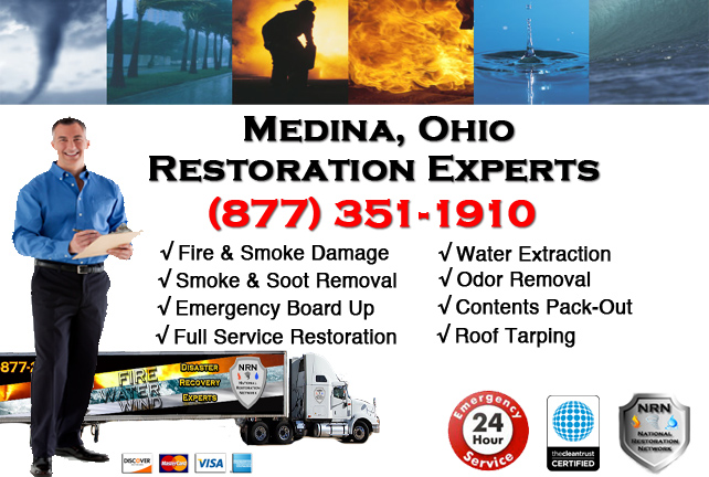 Medina Fire Damage Cleanup Company