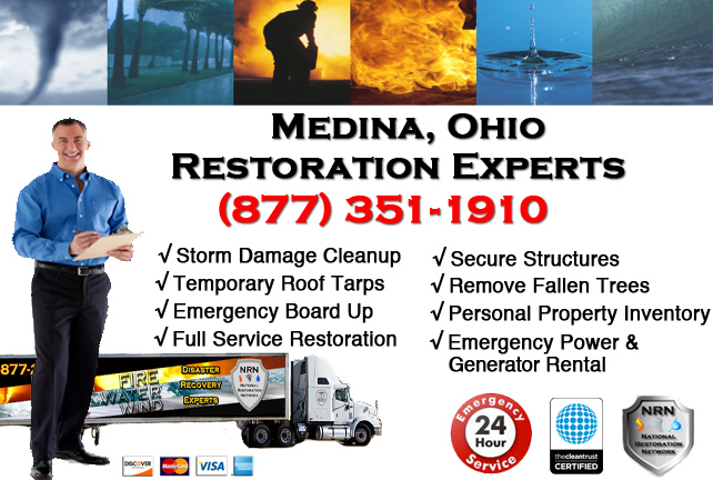 Medina Storm Damage Cleanup