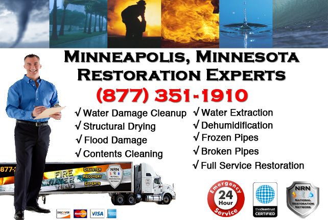 Minneapolis Water Damage Cleanup & Repairs