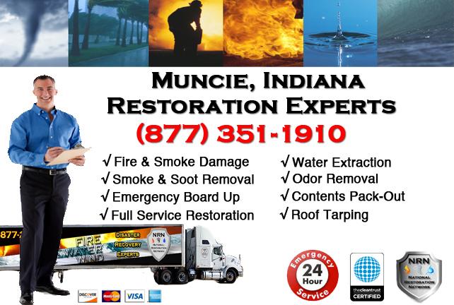 Muncie Fire & Smoke Damage Repairs