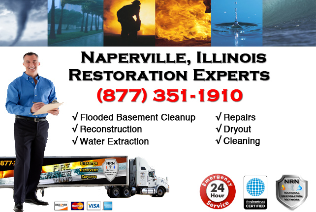 Naperville Flooded Basement Damage Repairs